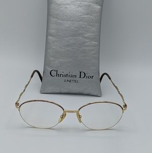 Authentic Vintage Christian Dior 2894 48 frames
